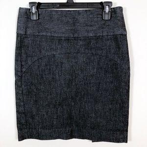 Gap Dark Denim Pencil Skirt Size 4